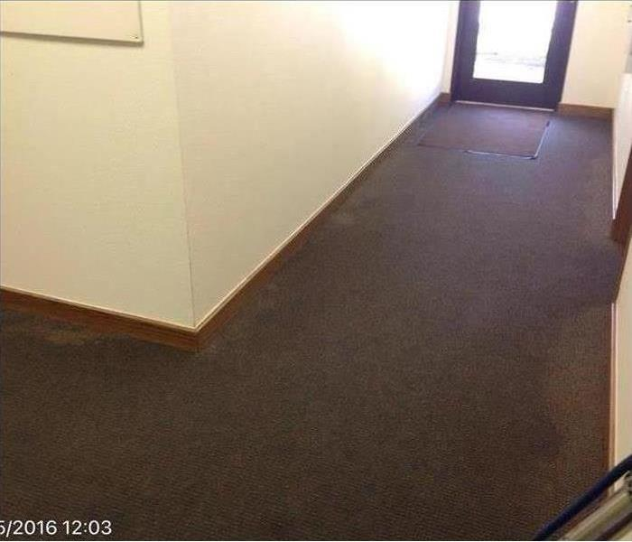 Water Damage – Beverly Hills Office Building Before