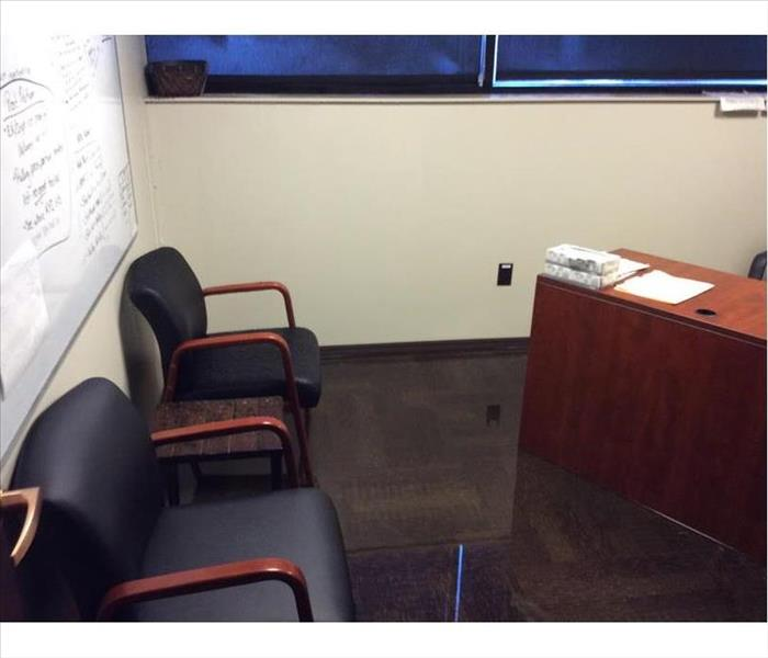 Office Suites in West Hollywood Suffer Water Intrusion Before
