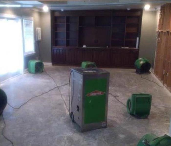 Water damage – Beverly Hills Home Before