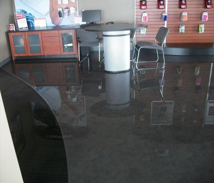 Water Damage to Beverly Hills Retail Store