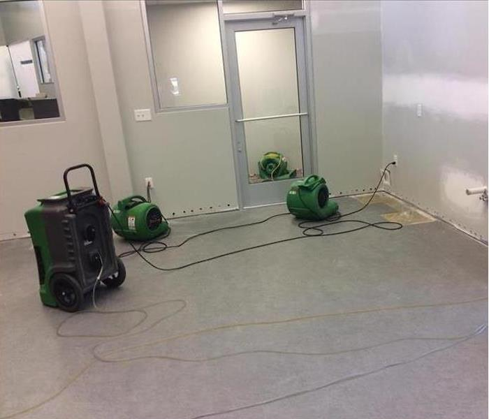 Commercial Water Damage – Beverly Hills Library