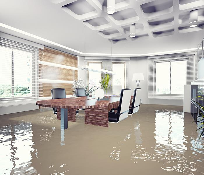 Commercial Four Things You Shouldn't Do After Los Angeles Commercial Water Damage