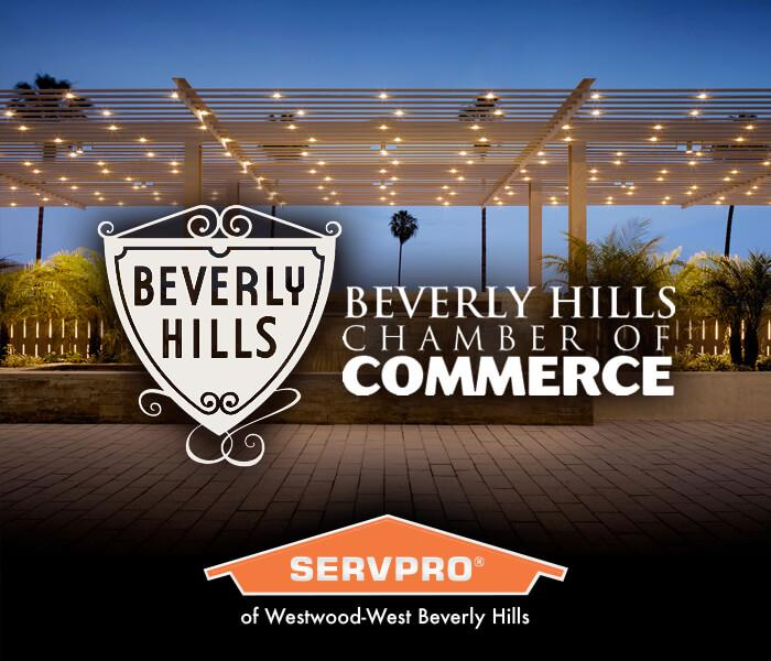General SERVPRO is a proud member of the Beverly Hills Chamber of Commerce