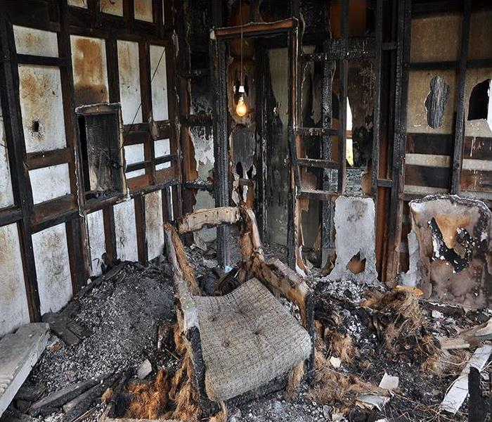Fire Damage Our Crew Can Necessitate Soot Cleanup Services In Your Los Angeles Home After A Fire