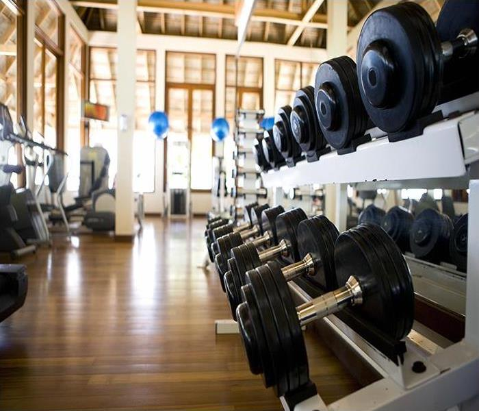 Commercial The Effects Of Commercial Flood Damage In Westwood Fitness Centers